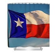 Texas State Flag - Texas Lone Star Flag Shower Curtain