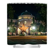 Texas State History Shower Curtain