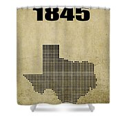 Texas Statehood 2 Shower Curtain