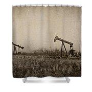 Texas Tea Shower Curtain