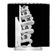 Texas Theater Shower Curtain by Darryl Dalton