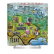 Texas Usa Shower Curtain