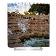 Texas Water Gardens Shower Curtain