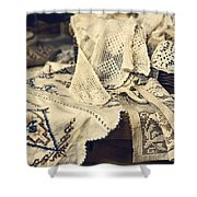 Textile Collection Shower Curtain