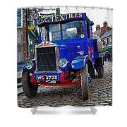 Textile Truck Colour Shower Curtain