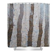 Textural Forest Shower Curtain