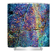 Texture And Color Abstract Shower Curtain