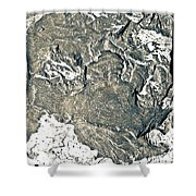 Texture No.2 Effect 4 Shower Curtain