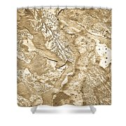 Texture No.6 Effect 2 Shower Curtain