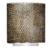 Texture Of Gong Shower Curtain