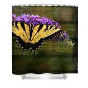 Textured Shower Curtain