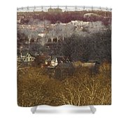 Textures Boathouse Shower Curtain