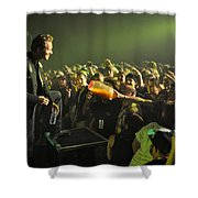 Tfk-trevor-cheeseballs-2883 Shower Curtain