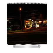Tgi Fridays Car Lights Glow Shower Curtain