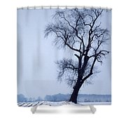 The Patriarch In Color Shower Curtain