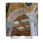Great Hall Of The Library Of Congress Shower Curtain