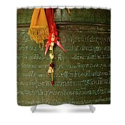 Thai Bell Shower Curtain