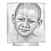 Thai Boy Shower Curtain