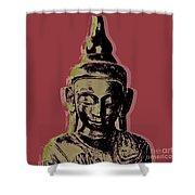 Thai Buddha #1 Shower Curtain