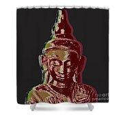 Thai Buddha #3 Shower Curtain