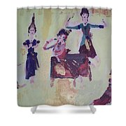 Thai Dance Shower Curtain