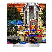 Thailand 6 Shower Curtain