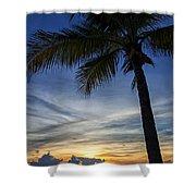 Thailand Sunset Sunrise Shower Curtain