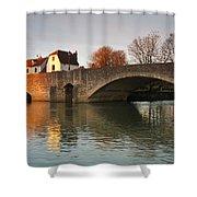 Thames In Abingdon Shower Curtain