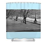 Thames Walkway Shower Curtain