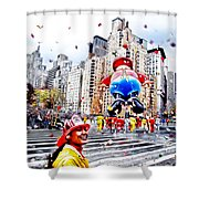 Thanksgiving Parade Shower Curtain