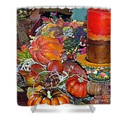 Thanksgiving Remembrance Shower Curtain