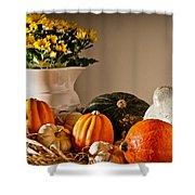 Thanksgiving Still Life Shower Curtain