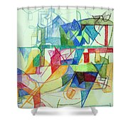 That Hashem And His Ways Become Known In The World 2 Shower Curtain