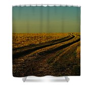 That Long Long Road Shower Curtain
