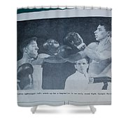 That Me Fighting Erving Nard In 1954 Shower Curtain