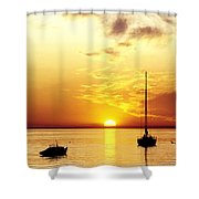 That Sky Shower Curtain