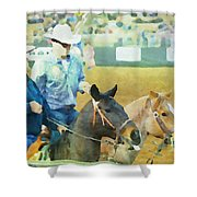 That Was A Good Steer Shower Curtain