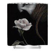 That Which Will Not Be Silenced Shower Curtain