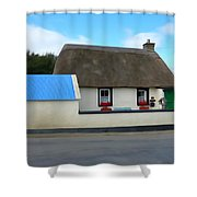 Thatched Shower Curtain