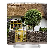 Thatched Cottage House Shower Curtain