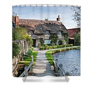 Thatched Cottage Thornton Le Dale Shower Curtain