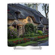 Thatched Roof Shower Curtain