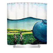 That's Gonna Make A Lot Of Pies Shower Curtain
