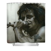 That's How It Goes Playing In A Band Shower Curtain