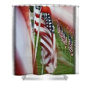The 10th Anniversary Of 9-11-2001 Forest Park St Louis Mo Img 5708 Shower Curtain