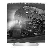 The 1218 On The Move - Panoramic Shower Curtain