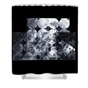 The 13th Dimension Shower Curtain