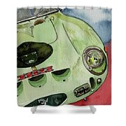 The 1962 Ferrari 250 Gto Was Built For Sir Stirling Moss Shower Curtain
