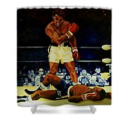 The 2nd Fight  Shower Curtain
