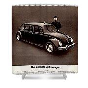 The 35000 Volkswagen Shower Curtain